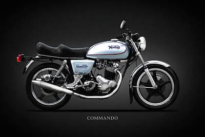 The 850 Commando Poster