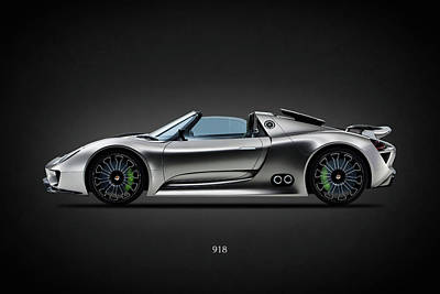 The 918 Spyder Poster