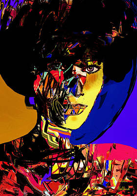 The Abstract Woman Poster