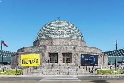 The Adler Planetarium Poster