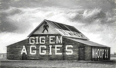 The Aggie Barn Poster