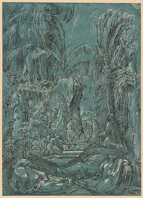 The Agony In The Garden Poster