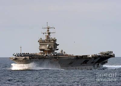 the aircraft carrier USS Enterprise Poster