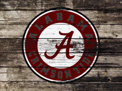 The Alabama Crimson Tide 3b             Poster by Brian Reaves