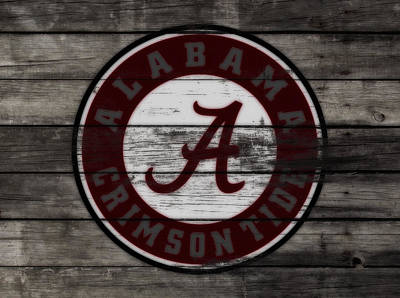 The Alabama Crimson Tide 3c             Poster by Brian Reaves