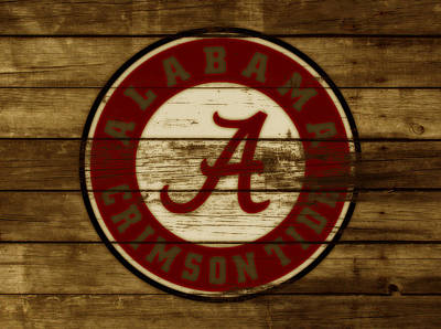 The Alabama Crimson Tide Poster by Brian Reaves