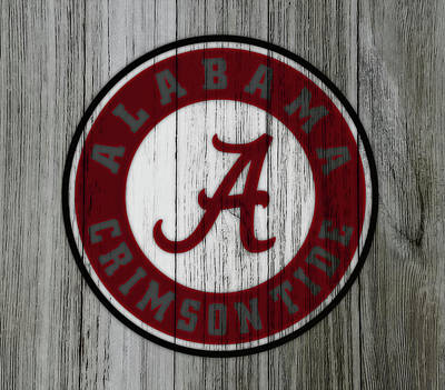 The Alabama Crimson Tide C1             Poster by Brian Reaves