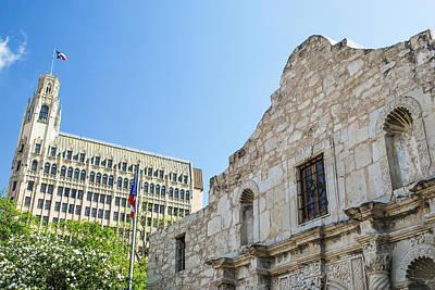 The Alamo In San Antonio Poster by Gregory Ballos