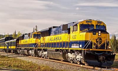The Alaska Railroad Poster