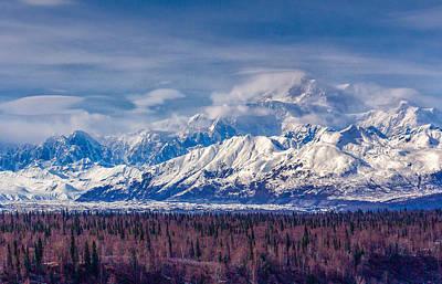 The Alaska Range At Mount Mckinley Alaska Poster