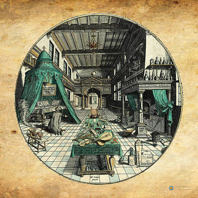 The Alchemist Poster by Heinrich Khunrath