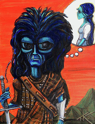 The Alien Braveheart Poster