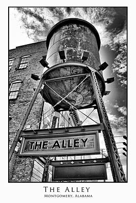 Poster featuring the digital art The Alley  by Greg Sharpe