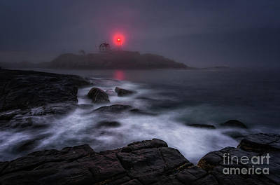 The Allure Of Nubble Poster by Scott Thorp