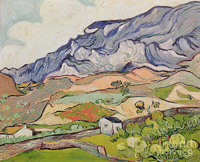 The Alpilles Poster by Vincent Van Gogh