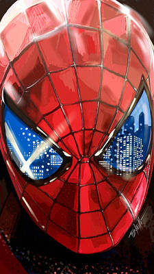 The Amazing Spider-man... Poster by Mark Tonelli