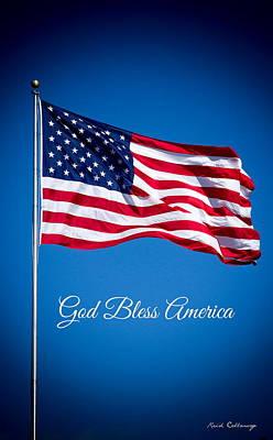 The American Flag Art 5 Poster by Reid Callaway