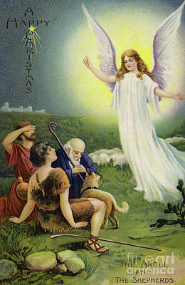 The Angel And The Shepherds  Poster