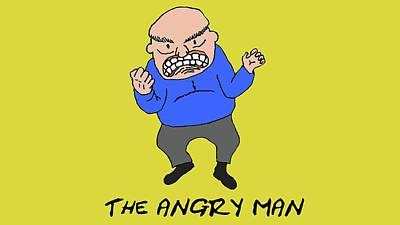 The Angry Man Poster