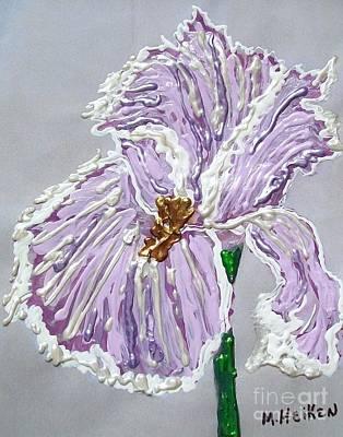 The Anne- Elizebeth Iris Poster by Marsha Heiken