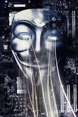 The Anonymous Eyes Of Civil Unrest Poster by Jorgo Photography - Wall Art Gallery