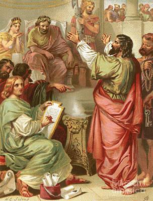 The Apostle Paul Before Felix Poster