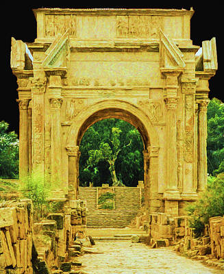 The Arch Of Septimus Severus,  Poster