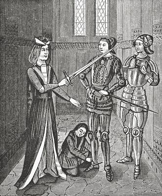 The Arming Of A Knight After The Poster