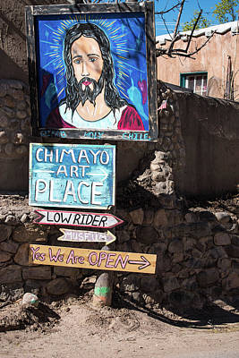 The Art Place In Chimayo Poster