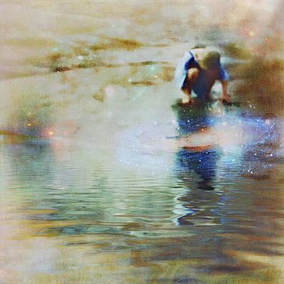 The Artist As A Boy Poster