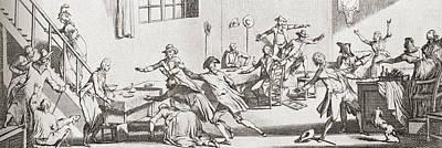 The Assassination Of Louis-michel Le Poster by Vintage Design Pics