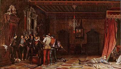 The Assassination Of The Duc De Guise Poster by MotionAge Designs