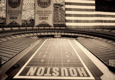 The Astrodome 1980s Poster