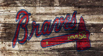 The Atlanta Braves 1w Poster by Brian Reaves