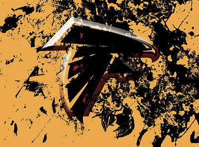The Atlanta Falcons 1d Poster by Brian Reaves