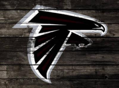 The Atlanta Falcons 3c Poster by Brian Reaves