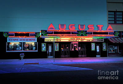 The Augusta Facade Poster by Fred Lassmann
