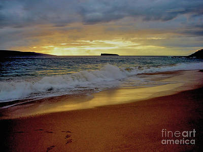 The Aura Of Molokini Poster by Victor K
