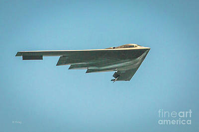 The B-2 Bomber Poster by Rene Triay Photography