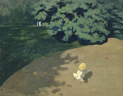 The Ball Poster by Felix Vallotton