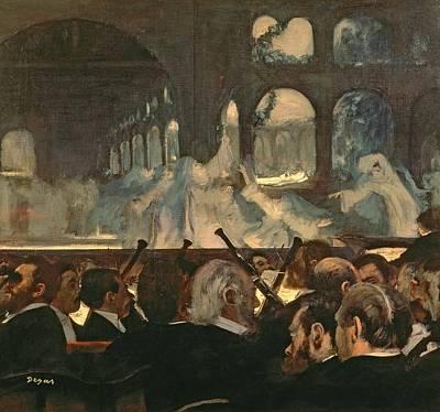 The Ballet Scene From Meyerbeer's Opera Robert Le Diable Poster by Edgar Degas