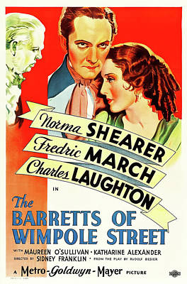The Barretts Of Wimpole Street Poster by M G M