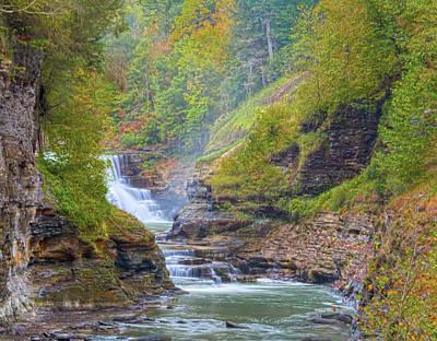 The Bashful Lower Falls Poster