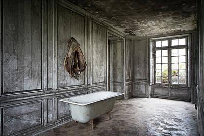 The Bathroom Tub - Urban Decay Poster by Dirk Ercken