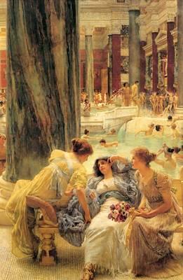 The Baths Caracalla Poster