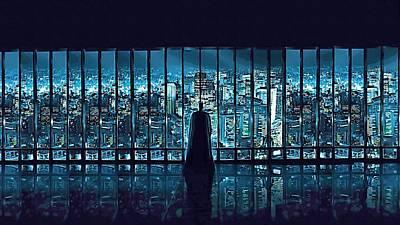 The Batman Series Art Poster by Egor Vysockiy