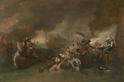 The Battle Of La Hogue Poster