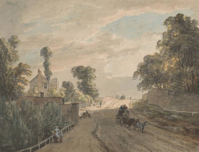The Bayswater Turnpike Poster by Paul Sandby