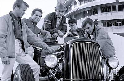 The Beach Boys 1963. Poster by The Titanic Project
