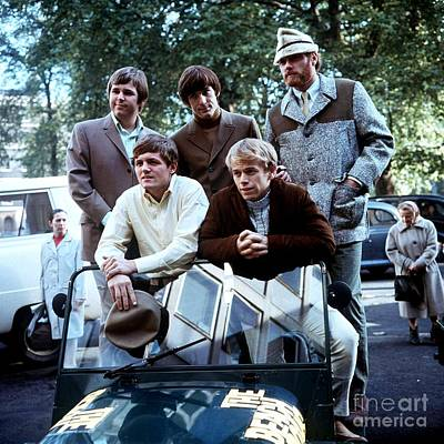 The Beach Boys In London In 1966. Poster
